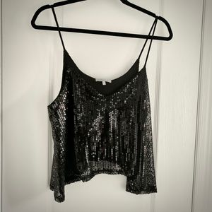 4 for $20 🖤 CHARLOTTE RUSSE sequin crop top